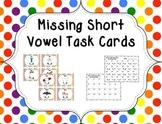 Missing Short Vowel Task Cards