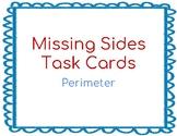 Missing Sides Task Cards for Perimeter