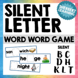 Missing Silent Letter Activity and Word Cards - for Spelling or Word Work
