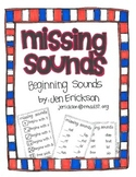 Missing Sounds:  Beginning Sounds