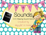 Missing Sounds - CVC Sound & Letter Practice {Multiple Levels}
