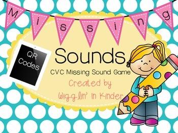 Missing Sounds - CVC Sound & Letter Practice {Multiple Levels}