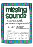 Missing Sounds:  Ending Sounds