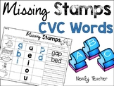 Missing Stamps: CVC Words