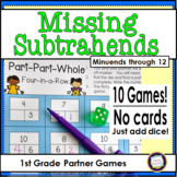 Missing Subtrahends One Page Games Minuends Through 12