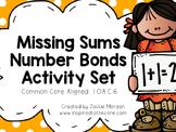 Missing Sums Number Bond Activity Set