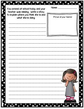Missing Teacher Activity