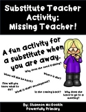 Missing Teacher Activity