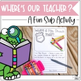 Missing Teacher Writing Activity