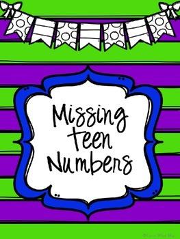Missing Teen Numbers