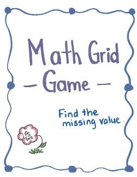 Missing Value Grid Game