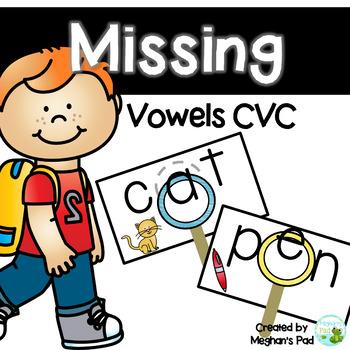 Missing Vowels CVC