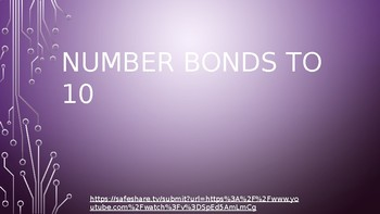 Missing Whole, Number Bonds to 10