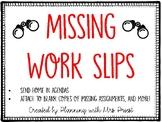 Missing Work Slips