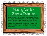 Missing Work Tracker