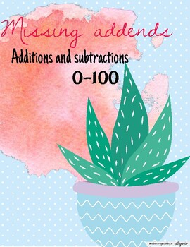 Missing addends 0-100
