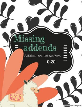 Missing addends 0-20