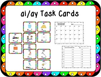 Missing ai/ay Task Cards