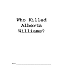 Missing and Murdered: Who Killed Alberta Williams?