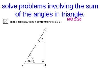 Missing angles in tringles