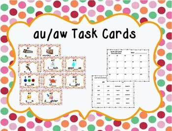 Missing au/aw Task Cards