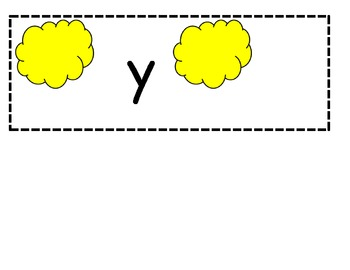 Missing letter activity