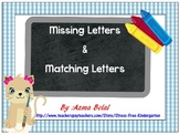Missing letters & Matching letters