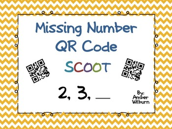 Missing number QR Code Scoot