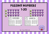 Missing numbers 1-20