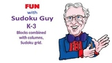 Fun with Sudoku Guy (K-gr3, LESSON 5 ): Combined column &