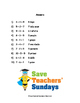 Addition and Subtraction Word Problems Lesson Plans, Worksheets and More
