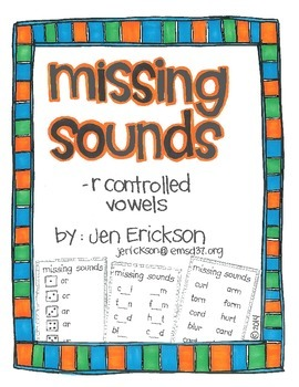 Missing -r Controlled Vowels