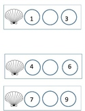 Missing sea shell numbers