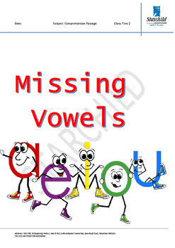 Missing vowels
