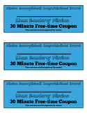 Mission Accomplished Free-time Coupon