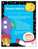 Mission Addition Math Game