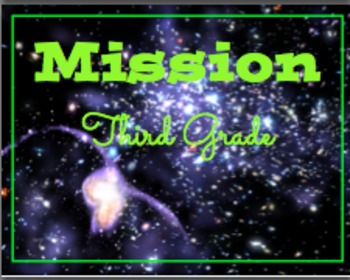 Mission: Back to School Space Theme