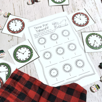 December Math Centers for 2nd Grade