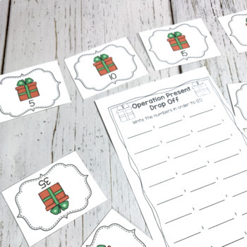 Mission: Christmas Math Centers
