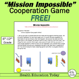 """P.E. Curriculum: """"Mission Impossible""""  FREE - A Team Coope"""