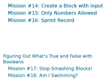 Mission List For Minecraft By Tina Belden Teachers Pay