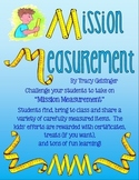 Mission Measurement!  Fun Hands-On Exploration of Weight a