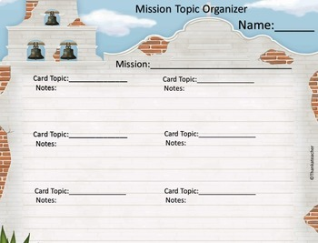 Mission Mini-Chapters Foldable Project