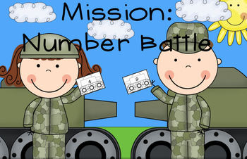 Mission: Number Battle -- A Greater Than / Less Than Activ