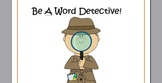 Mission Possible! Word Detective