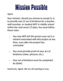 Mission Possible - A Kindness Project Entry Event