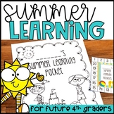 Summer Review for Future Fourth Graders