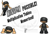 Mission Possible_Multiplication Tables Memorized!