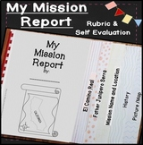 Mission Report 4th Grade California History