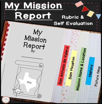 Mission Report Texas History